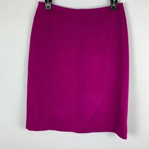 NWT Ann Taylor Sz 2 Straight Skirt Wool Cashmere
